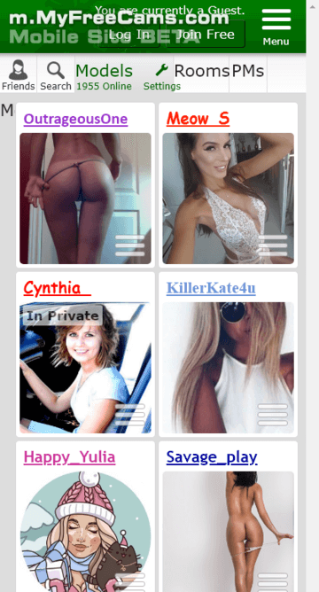 sites like myfreecams